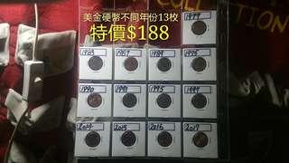 美國錢幣系列(下品至上品)【市價$188】
