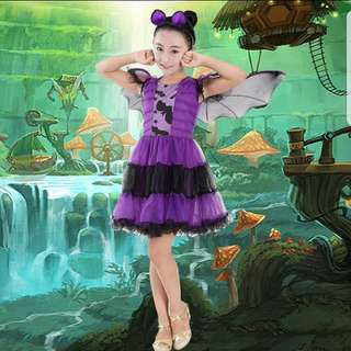 Halloween Bat Princess Costume