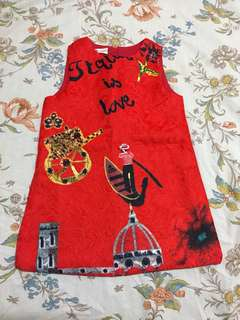 D&G inspired toddler kids dress