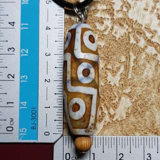 Dzi beads pendant necklace 9 eye 天珠 Db130