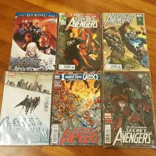 Secret Avengers 2011-13 complete series