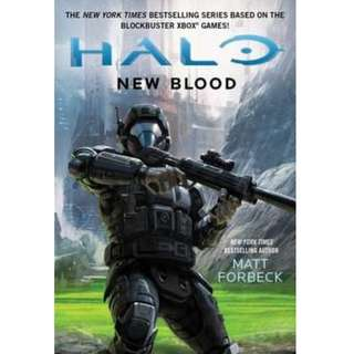 (Brand New)   New Blood Halo (Gallery Books)  By: Matt Forbeck -  Paperback