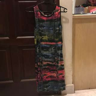 TOPSHOP Colourful Tank Dress