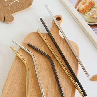 [PO] Stainless Steel Straws