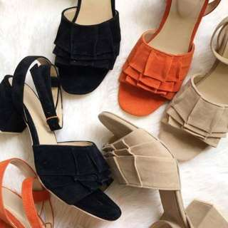 ANGELINE Block Heels
