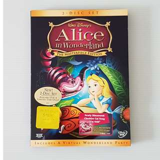 Walt Disney's Alice In Wonderland, DVD