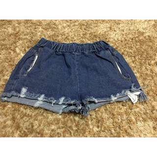 Denim Shorts (garterized)