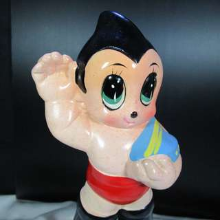 Vintage Astro Boy Ceramic Figure in 80's