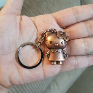 Hello Kitty Metal Keychain