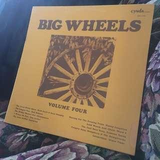 CNS 1103 BIG WHEELS Volume Four LP Record
