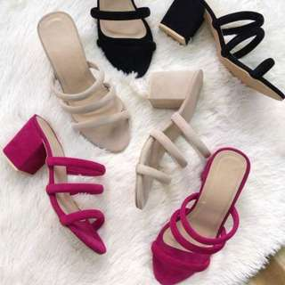 GLAIZA Block Heels