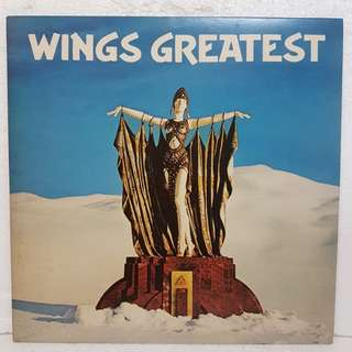 Wings Greatest Vinyl Record