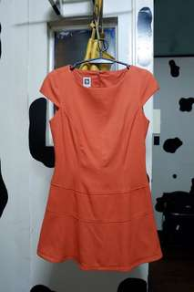 Anne Klein Little Orange Dress