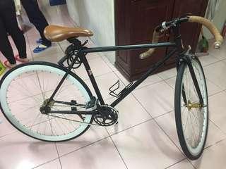 復古彎把腳踏車