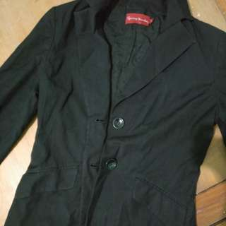 Office black coat