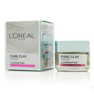 Loreal Pure Clay Mask Illuminating original