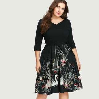Plus Size Elegant Dress