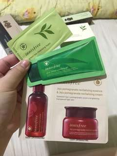 INNISFREE SKINCARE SAMPLE
