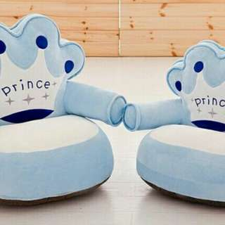 Inflatable Sofa kids prince and princess