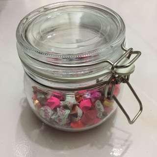 Paper Stars in a Jar