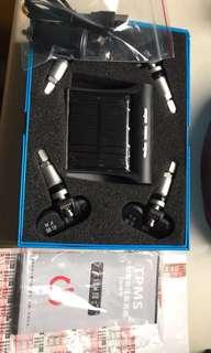 🚚 太陽能胎壓偵測器(全新胎內式)免牽線路