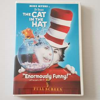 The Cat In The Hat, DVD