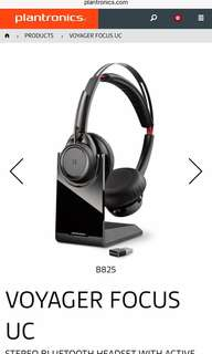 Noise cancelling Bluetooth Headphone for UC