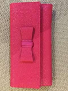 pink wallet - unused