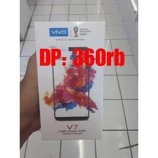VIVO V7 Cicilan Promo Bunga 0,99% Tanpa Kartu Kredit