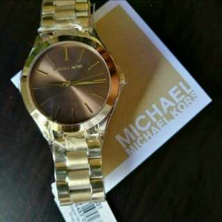 Authentic MK watches on hand