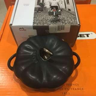 Staub black pumpkin ceramic 0.5L