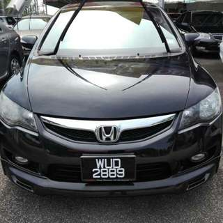 Honda Civic 2.0at thn 2010