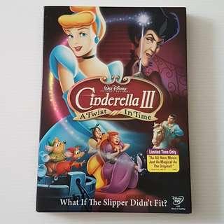 Walt Disney Cinderella III, DVD