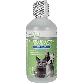 Tomlyn Sterile Eye Wash for Cats & Dogs 118ml