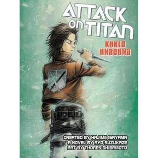 (Brand New) Attack on Titan  - Kyklo Unbound  By: Ryo Suzukaze, Thores Shibamoto - Paperback