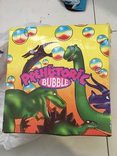 Prehistoric bubble