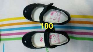 Hello kitty black shoes