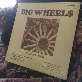 CNS 1101 BIG WHEELS Volume Two LP Record