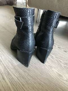 Helmut Lang Booties Size 38