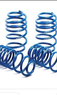 Scirocco 1.4 H&R lowering spring