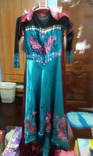 Elsa coronation night costume