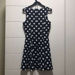 Polka dot skater dress #Easter20