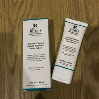 Kiehl's Break Out Control Blemish Treatment Facial Lotion