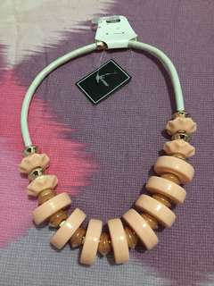 Brand new Forme pink necklace