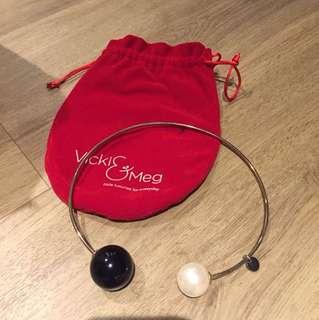 Vicki & Meg luxury choker ballistic necklace