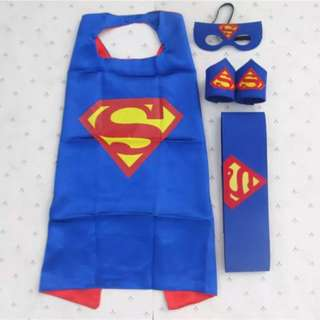 Superman Cape Set