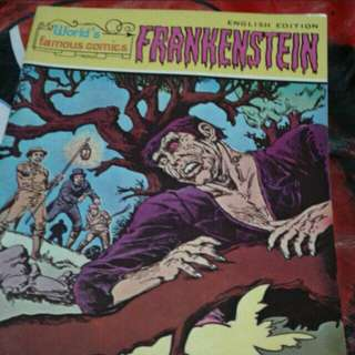 Frankenstein  A4 SIZE  Vintage comics collectible  $10 each  Collect at hougang buangkok mrt