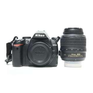 Nikon D3000 with 18-55mm Kit Lens