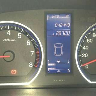 CRV 2.0 MT 2011-2010 km.42rban