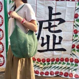 綠色小袋子 Bag in Green Color